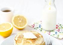 Lívance s citrónem a ricottou