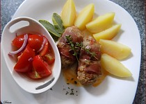 Masovo-sýrové šištičky s bylinkami
