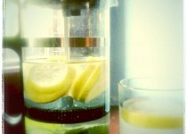 Meduňkovo-citronová limonáda
