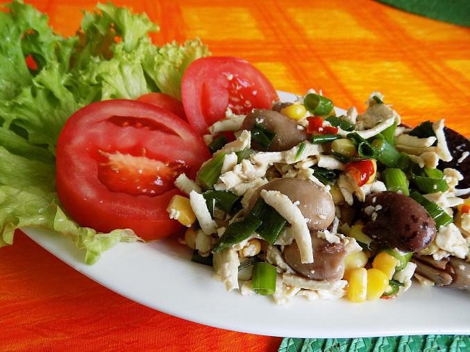 Mexický salát s tofu