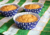Mrkvové muffiny se slunečnicovými semínky