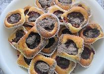 Nekynuté švestkové koláčky - muffiny