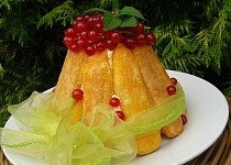 Piškotový nepečený mini dortík