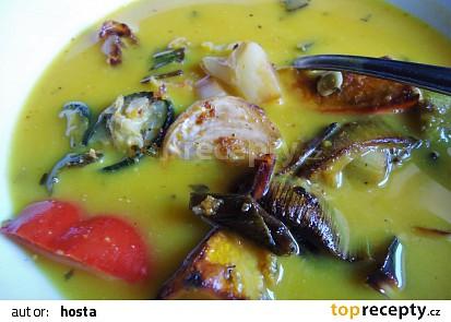 Polévka z pečené zeleniny