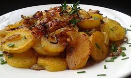 Restované bylinkové brambory