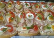 Retro chlebíčky