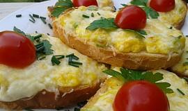 Rychlé vaječné tousty