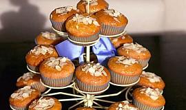 Skvělé meruňkové dortíčky s mandlemi