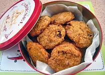 Skvělé mrkvové sušenky s rozinkami a ořechy