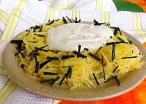 Špagetová dýně s ořechovo-sýrovou omáčkou