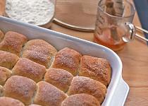Povidlové nebo makové buchty  (Süße gefüllte Buchteln)