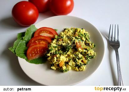 Tofu na způsob míchaných vajec