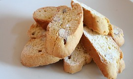 Toskánské sušenky Cantucci