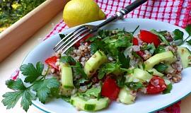 Letní pohankový salát