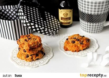 Arašídové sušenky s čokoládovými pecičkami