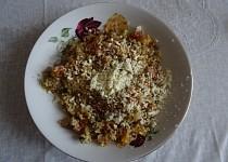 Bulgur se zeleninou v parním hrnci