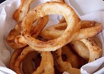 Cibulové kroužky (vhodné i pro vegany)