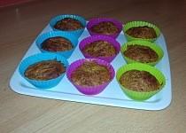 Dýňové muffiny z ovesných vloček