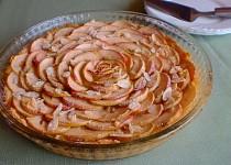 Jablečný koláč z mandlového těsta