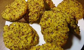 Kurkumové placičky z quinoy
