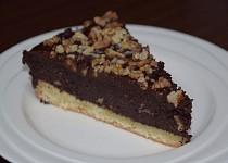 Makovo - čokoládový koláč