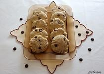 Mandlové sušenky s čokofloky bez lepku, mléka a vajec