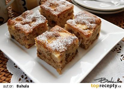 Ořechovo-jablečný koláč II