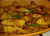 Pečené chilli brambory
