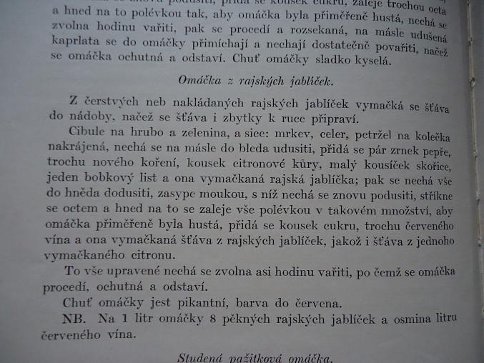 Rajská omáčka podle pana Šroubka