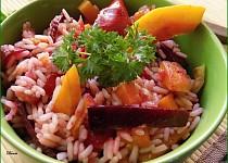 Rýžový salát s podzimní pečenou zeleninou