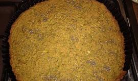 Slaný koláč z řapíkatého celeru, bez lepku, s proteiny, pro vegany
