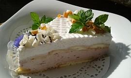 Snadný nepečený tvarohový dortík