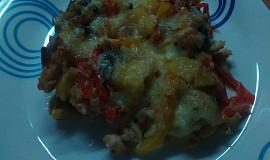 Zapečené kuře na cornflakes