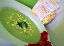 Brokolicovo - hrášková polévka