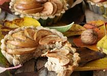 Celozrnné košíčky s ricottovou náplní s jablky a ořechy