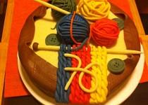 Dort pletení pro babičku