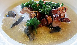 Kadlíkova vločková polévka