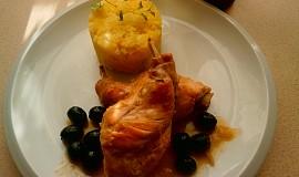 Králík na černých olivách - Coniglio alle olive
