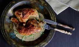 Kuře s estragonovou omáčkou