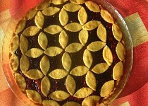 Linecký koláč nemřížkový