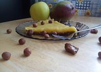 Mango na lískových oříšcích (bez cukru, bez mouky, bez vajec)