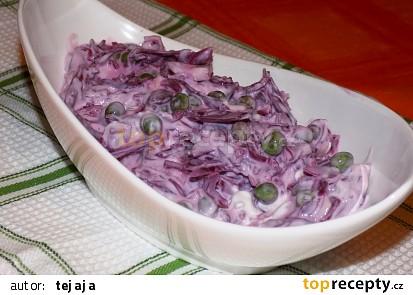 Nakládaný salát pro rychlou večeři