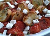 Pečená cherry rajčátka