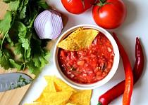 Rajčatová salsa s koriandrem