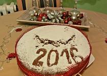 Řecký novoroční koláč - Vasilopita