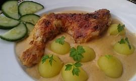 Smetanovo-celerové kuře