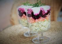 Šuba - lahůdkový salát pod kožichem