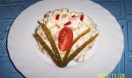 Sýrový salát s Moravankou