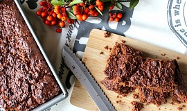 Tahini brownies
