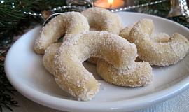 Vanilkové rohlíčky ořechové